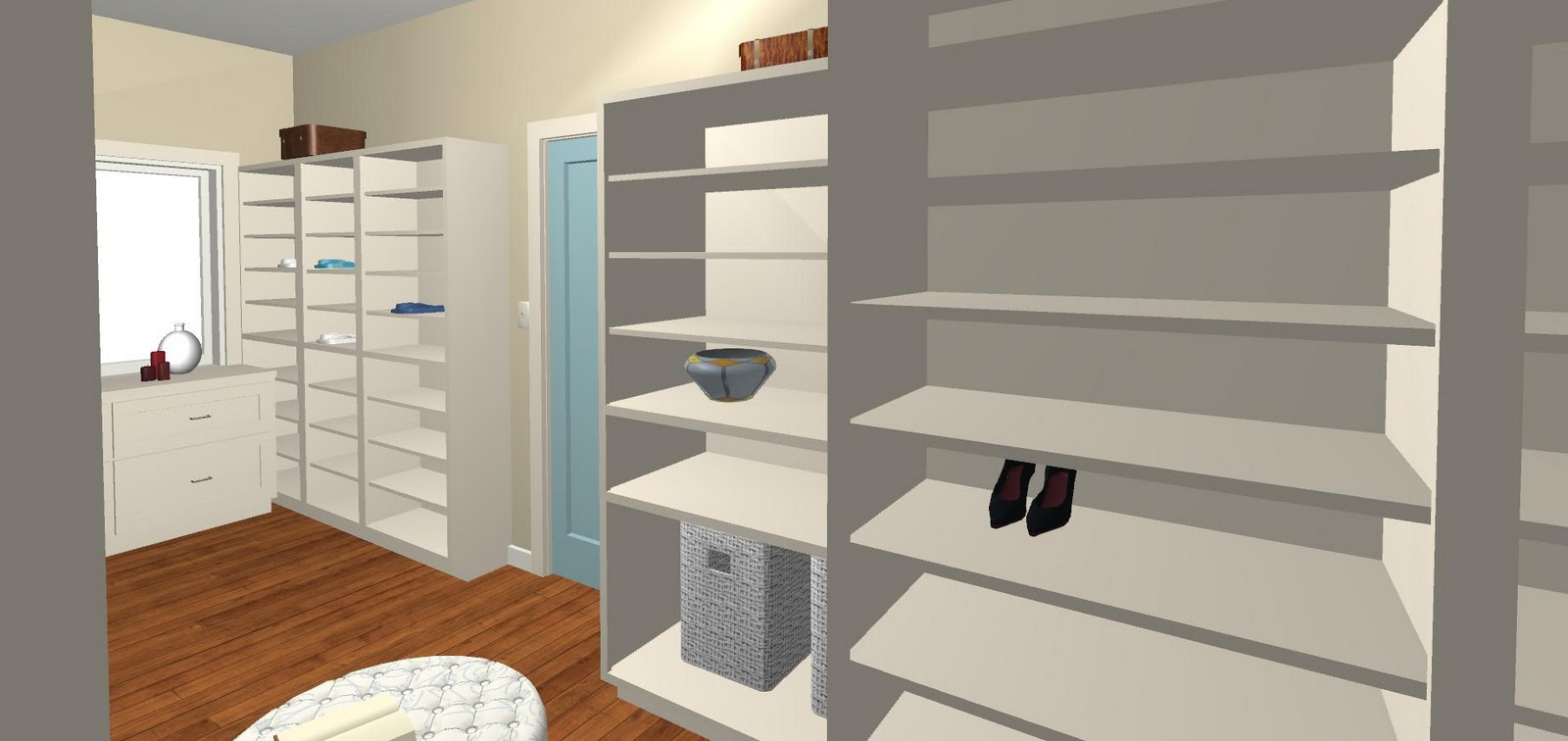 Charmant Wellu2026 Not Really My Closet. But I Designed It! Iu0027m An Interior Design  Student, Whou0027s Landed My First Job U2013 An Opportunity To Create A Plan For A  Walk In ...