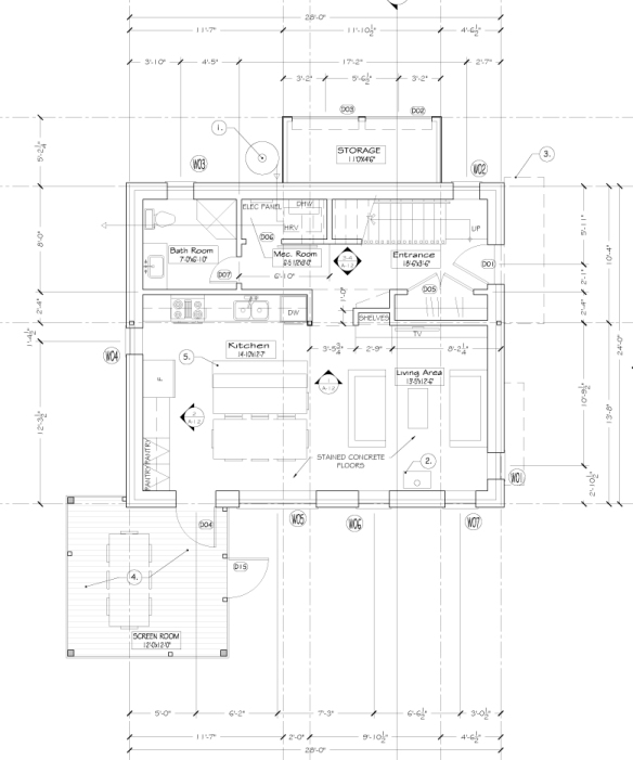 A-14 Interior Elevation Cont