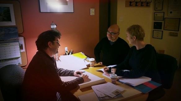 Vincent den Hartog design meeting