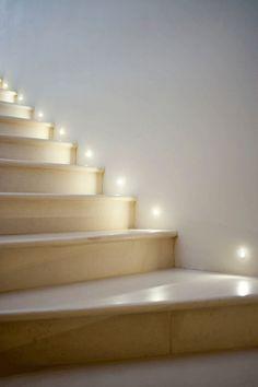 Recessed Step Lights