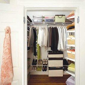 step in closet