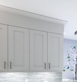 Kitchen Upper Cabinets - Classic Grey