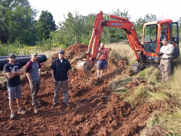 ground crew on site