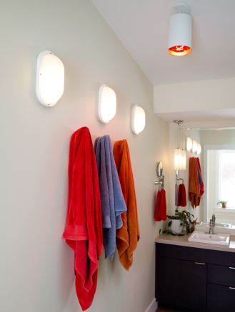 bathroom lighting designed by deborah nicholson lighting and interiors
