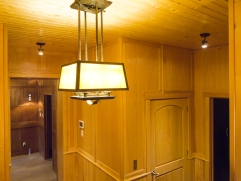 stunning arts and crafts lighting throughout